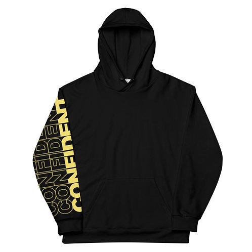 Confident Unisex Hoodie (Yellow)