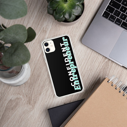 Confident Entrepreneur iPhone Case