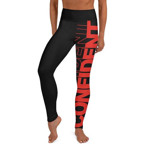 Confident Yoga Leggings (Red)