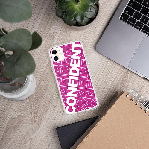 Confident iPhone Case (Pink)