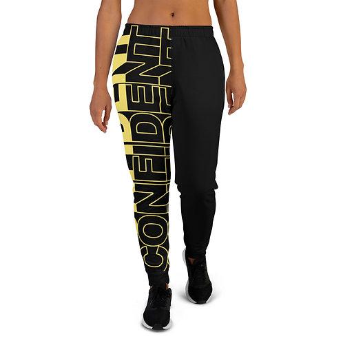 Confident Women's Joggers (yellow)