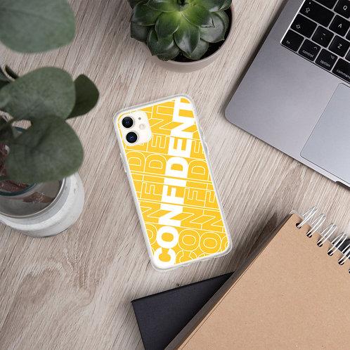 Confident iPhone Case (Yellow)