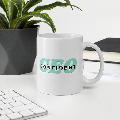 Confident CEO mug