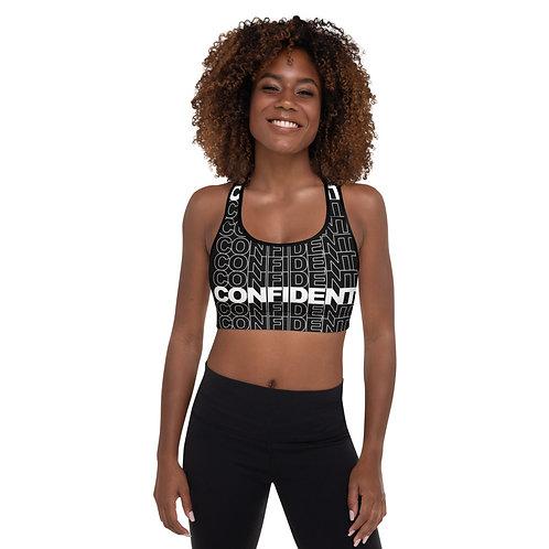Confident Padded Sports Bra (white)