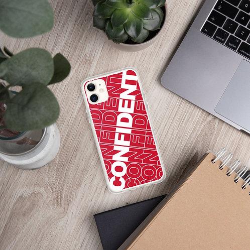 Confident iPhone Case (Red)
