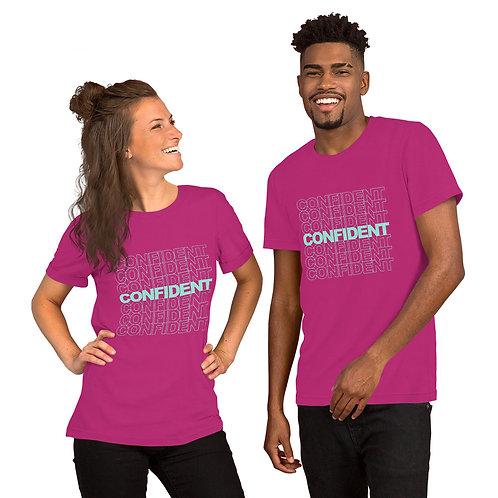 Confident Short-Sleeve Unisex T-Shirt (mint)