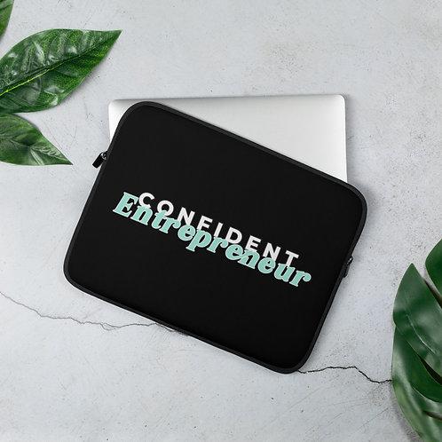 Confident Entrepreneur Laptop Sleeve