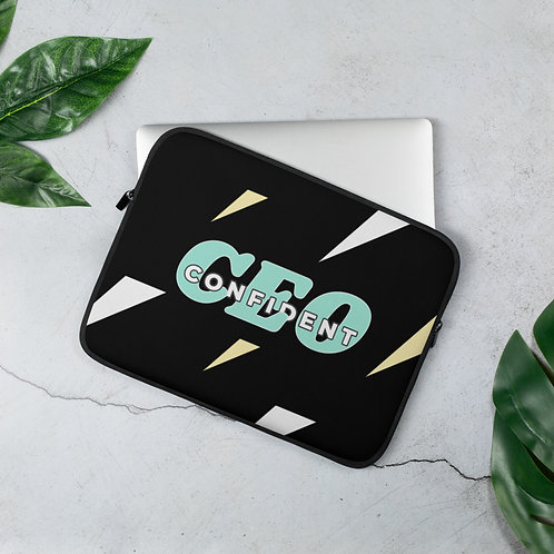Confident CEO Laptop Sleeve