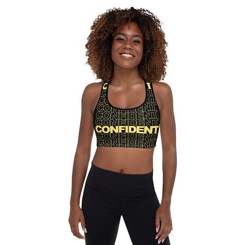Confident Padded Sports Bra (Gold)