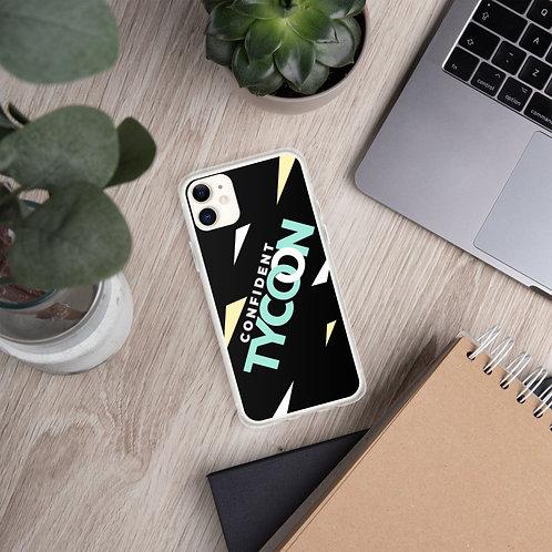 Confident Tycoon iPhone Case