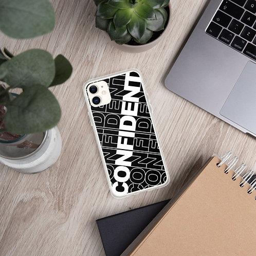 Confident iPhone Case (Black)