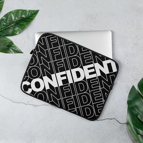 Confident Laptop Sleeve (Black)