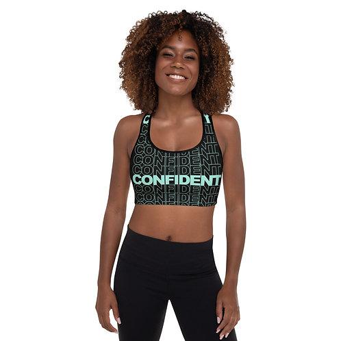 Confident Padded Sports Bra (Mint)
