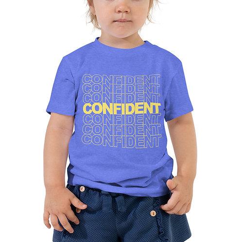 Toddler Short Sleeve Tee (Yellow Print)