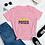 Thumbnail: Poised (black print) Women's short sleeve t-shirt