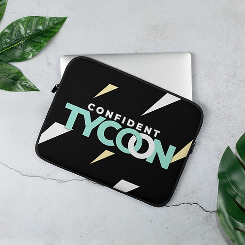 Confident Tycoon Laptop Sleeve