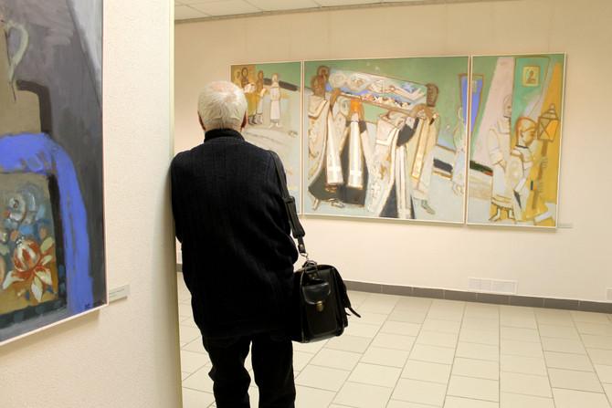 Выставка Валерия Бабина