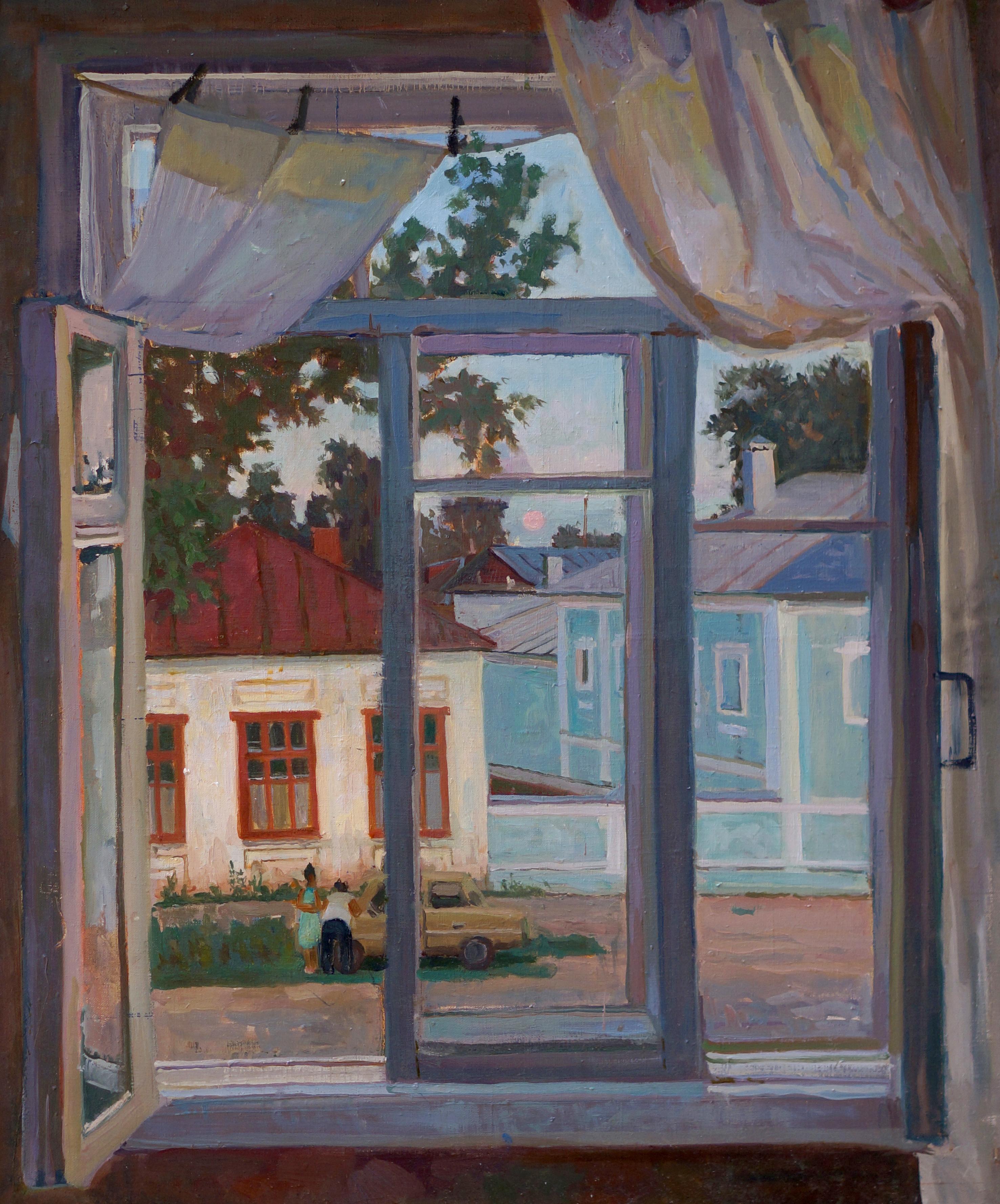 Окно, х.м., 2010
