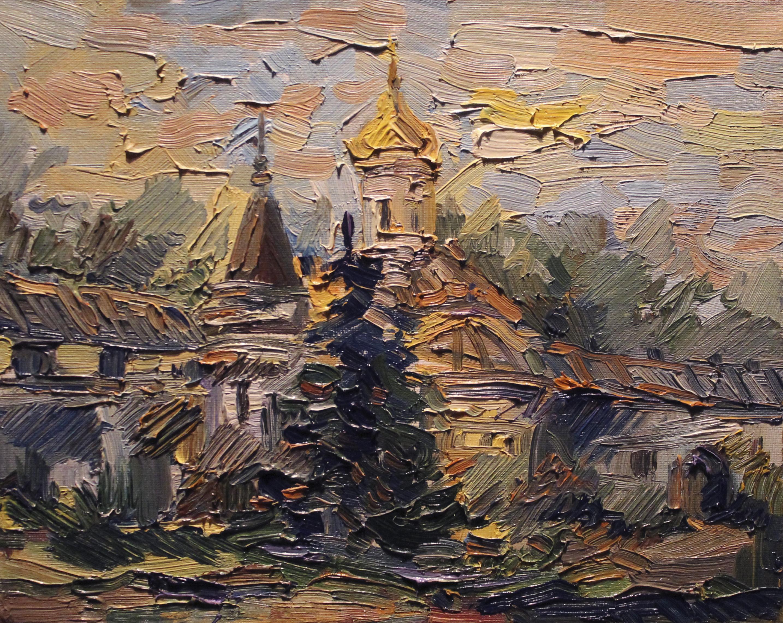 Ростов Великий 2014 холст, масло 20-30