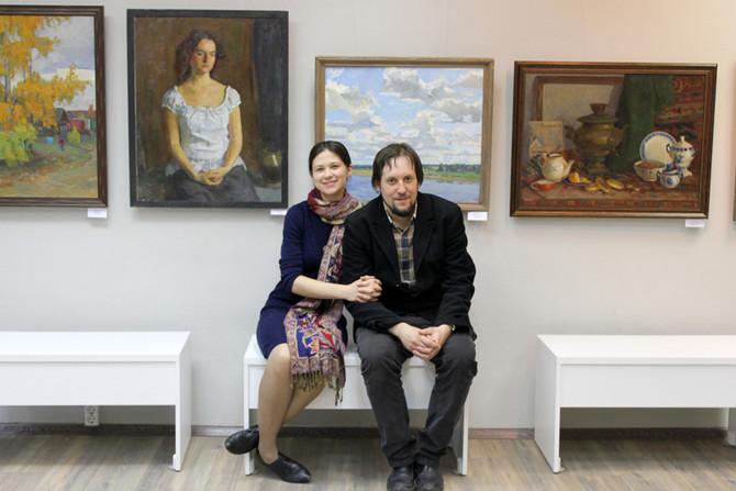 Выставка Николая Дубовик и Александры Ханеевой