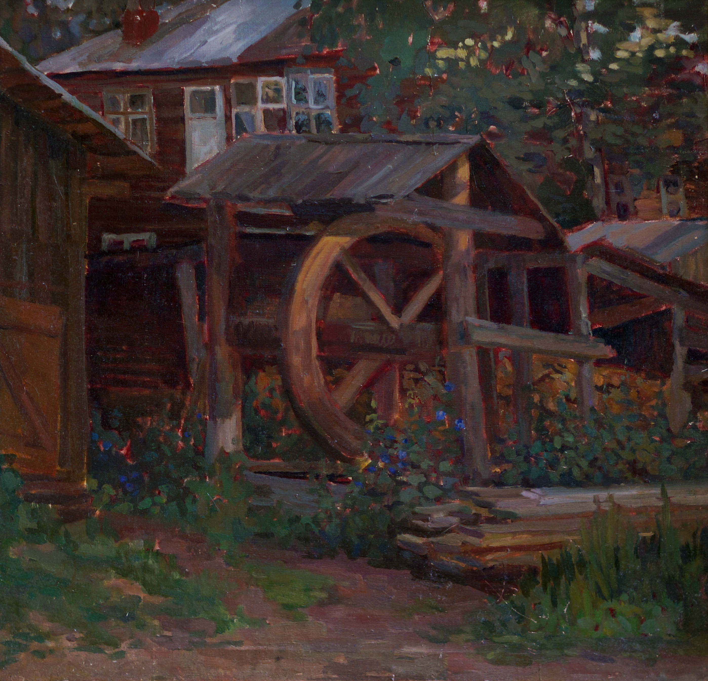 Колодец,х.м., 2010