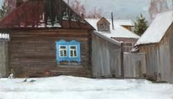 Последний снег, х.м., 2013