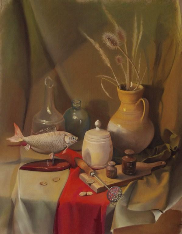Натюрмотрт с рыбой