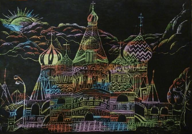 Обновление работ во Всероссийской он-лайн галерее детского рисунка