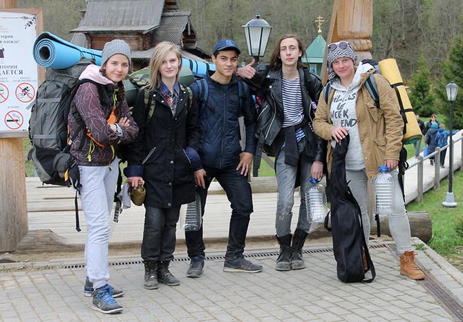 Пленэр-поход в Сергиев Посад и на Гремячие водопады