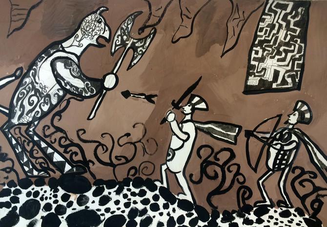 Новые поступления работ во Всероссийскую он-лайн галерею детского рисунка