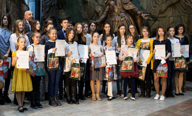 Награждение победителей Rusheva 2017