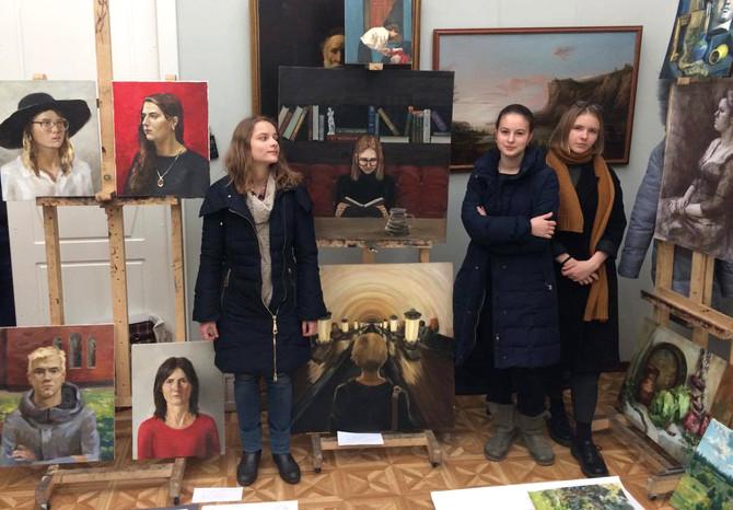 Конкурс юных художников в РАЖВЗ им. И. С. Глазунова