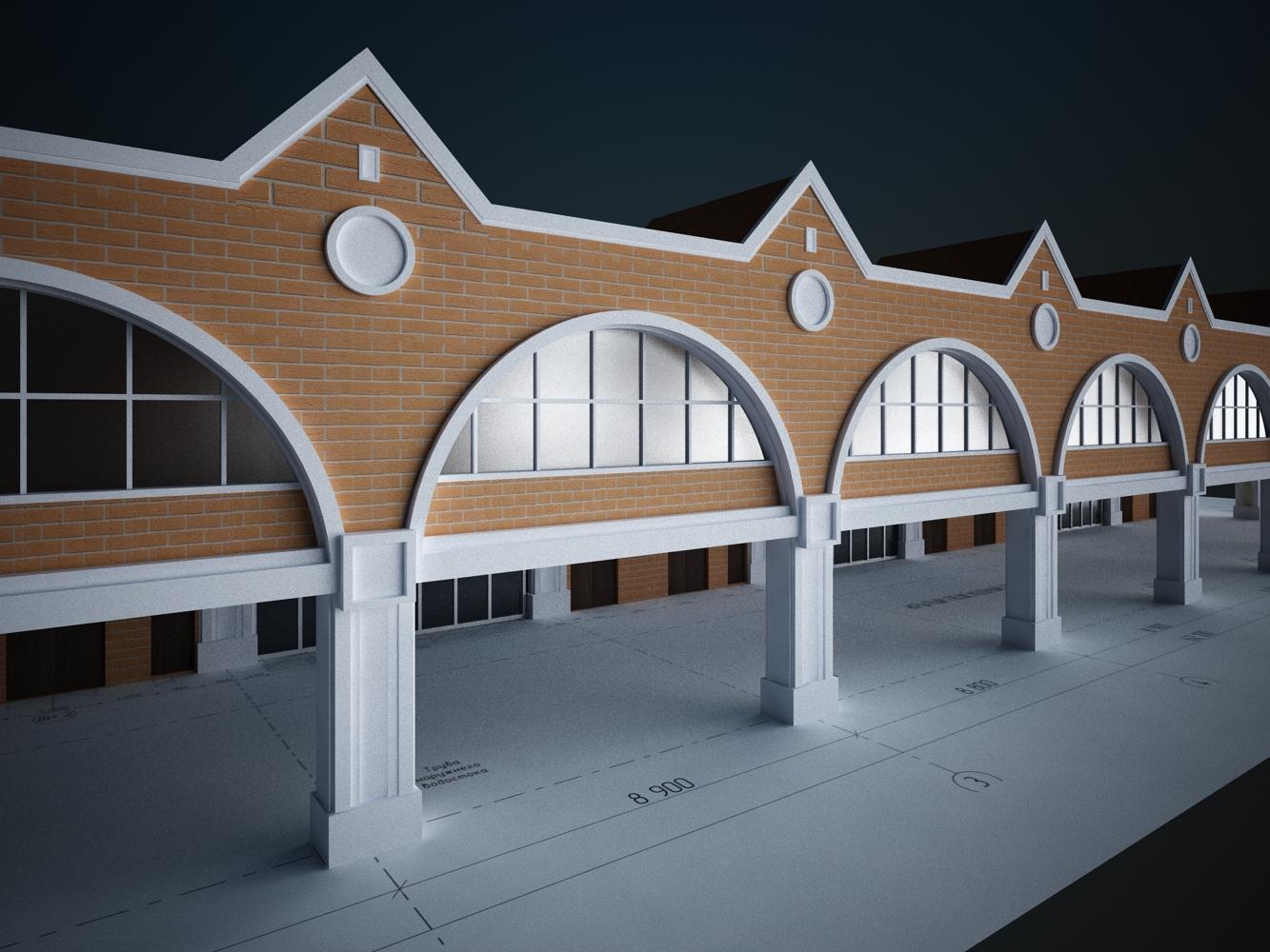 Казанский вокзал. Москва