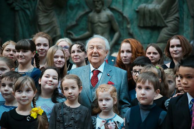Награждение победителей Х Открытого Всероссийского Конкурса детского рисунка имени Нади Рушевой