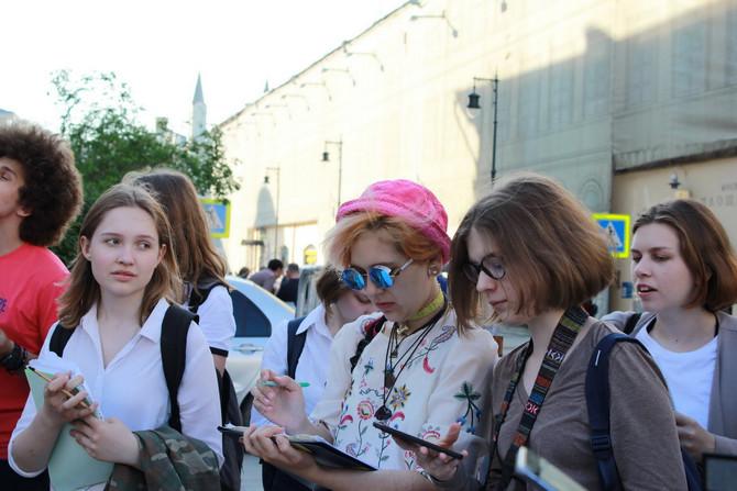 """Урок в городе по теме """"Московское барокко"""""""