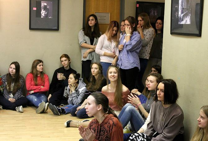 Собрание старшеклассников ХШ 548