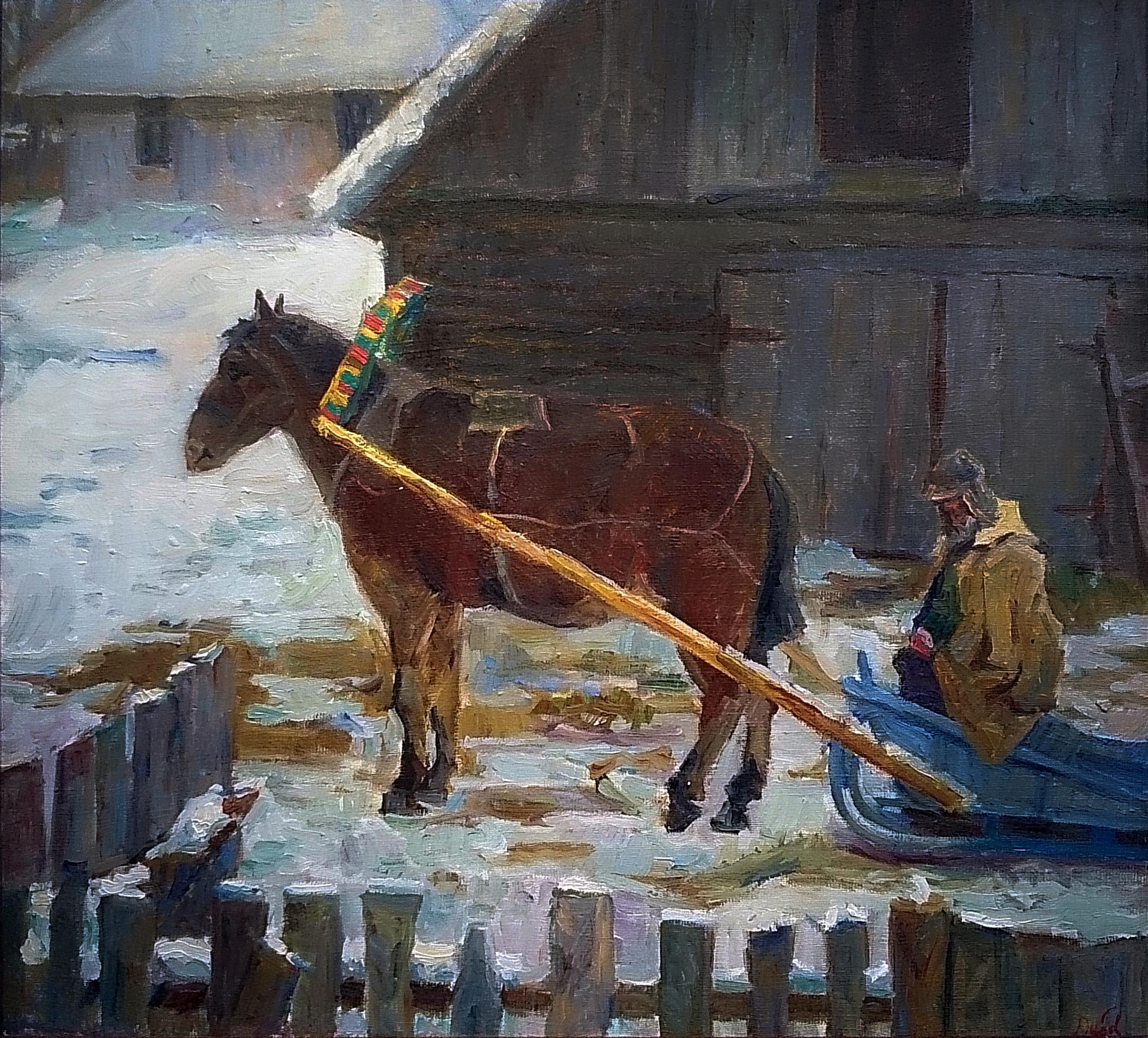 Лошадь на дворе 2009г.