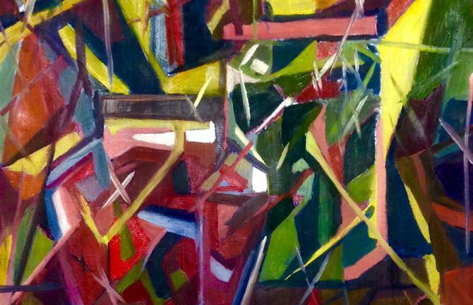 Лиза Григорова в Третьяковской галерее