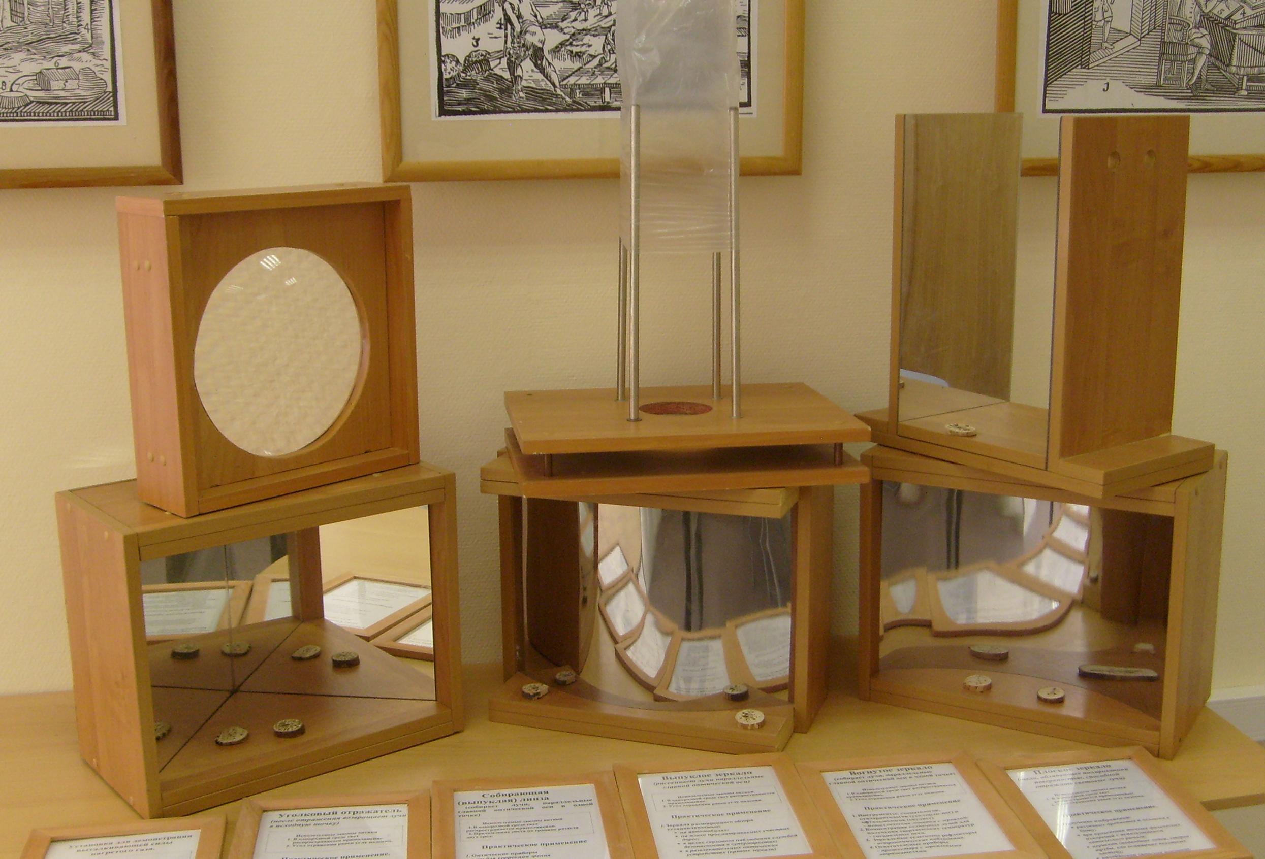 Оптические приборы по физике