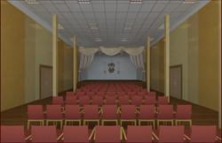 Актовый зал в г. Руза
