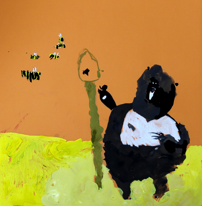 Мишка и мёд