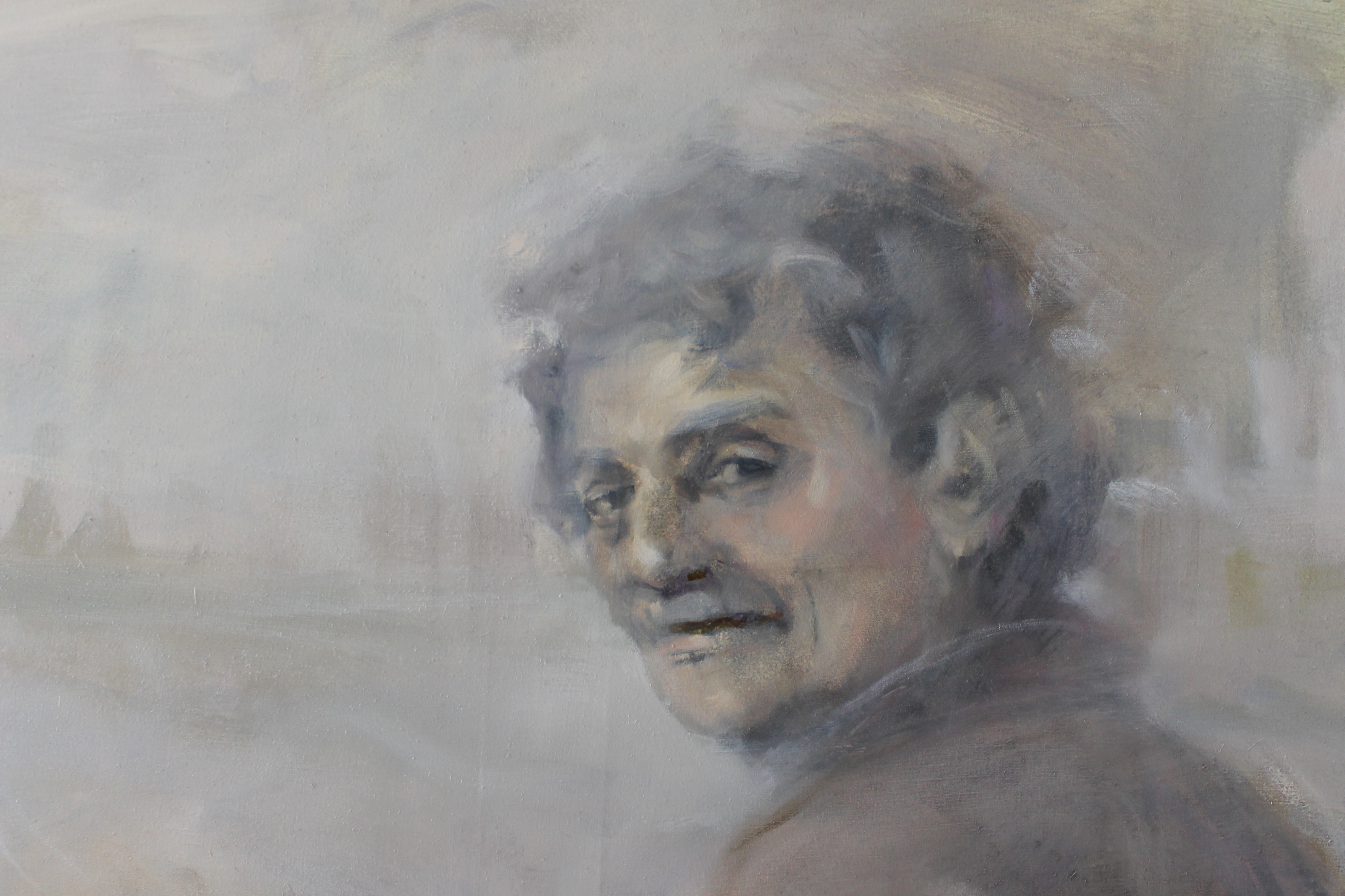Портрет Курта Воннегута