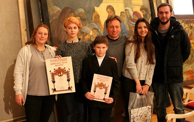 Конкурс юных художников