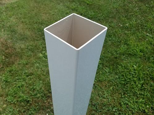 Handy Post Sleeve, 42-in x 4-in, White, Vinyl Mailbox Post Sleeve