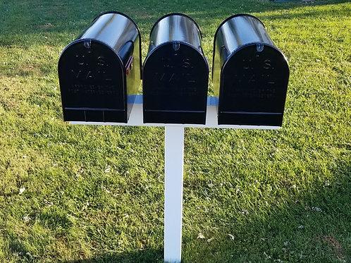 Handy Post 3XL, 42-in x 40-in, White, Vinyl, Mailbox Post Sleeve