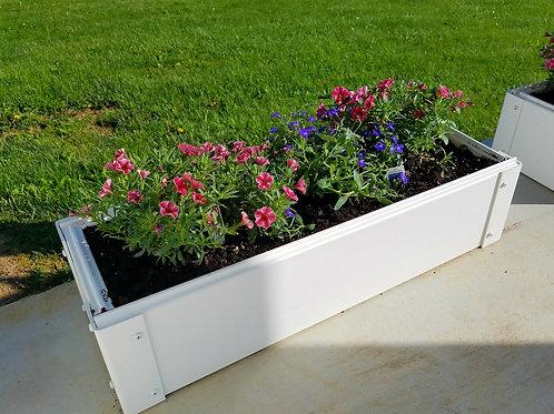 "Handy Bed Mini Raised Garden Bed Kit  8.5"" x 26"""