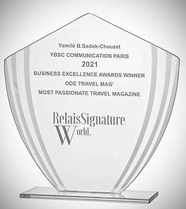 Relais signature world, ybsc communication, ode travel magazine, luxury travel magazine, best magazine, yamile sadok chouzet