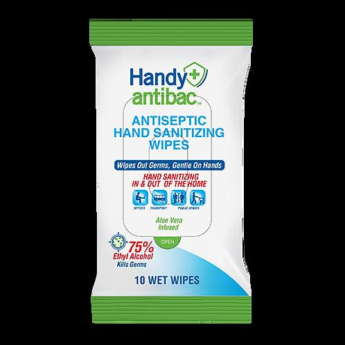 Handy Antibac™ Antiseptic Hand Sanitizing Wipes - COMING SOON