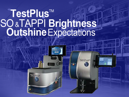 TestPlusTM ISO and TAPPI Brightness Outshine Expectations
