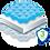 Thumbnail: Handy Antibac™  3 Layer Protection Mask - 50pk